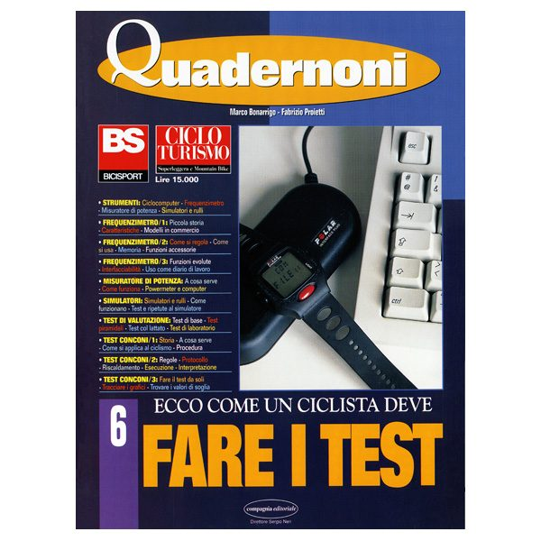 QUADERNONE 06 – FARE I TEST