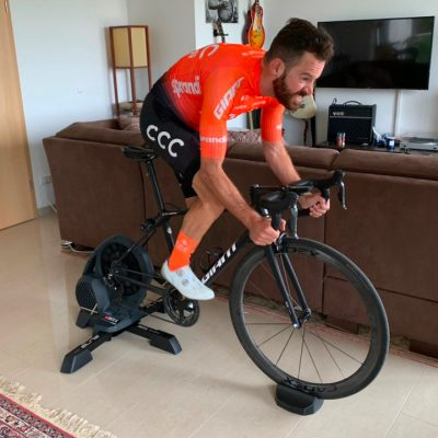 I campioni del ciclismo al Virtual Tour de France su Zwift